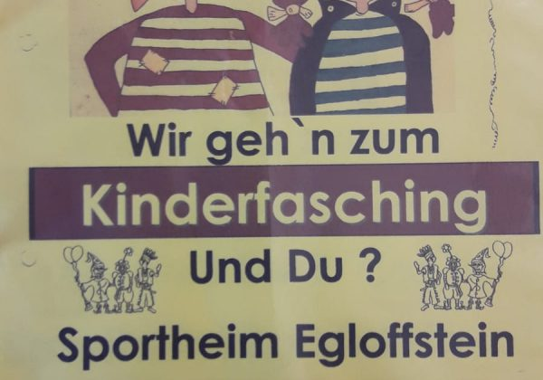 SCE Kinderfasching